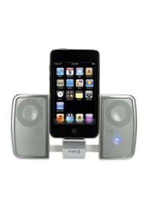 Logic3 i-Station Traveller - Portable Speakers For MP3 & iPod - Silver