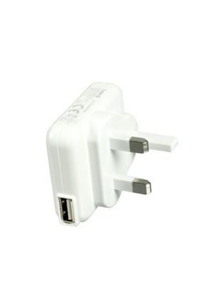 Logic3 USB AC Adaptor - UK Verison