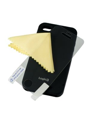 Logic3 Silicone Case for iPhone 4/S - Black