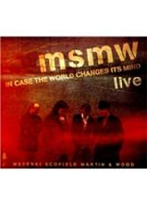 Medeski, Scofield, Martin & Wood - MSMW Live (In Case the World Changes Its Mind/Live Recording) (Music CD)
