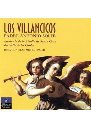 Antonio Soler: Los Villancicos (Music CD)