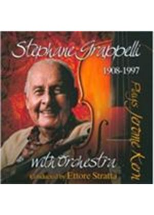 St�phane Grappelli - Grappelli Plays Jerome Kern (Music CD)
