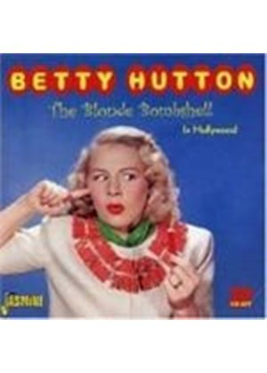 Betty Hutton - The Blonde Bombshell In Hollywood (Music CD)