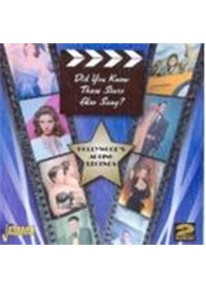 Various Artists - Did You Know These Stars Also Sang? (Music CD)