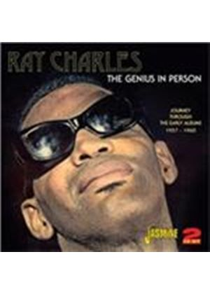 Ray Charles - Genius in Person (Journey Through the Early Albums 1957-1960) (Music CD)