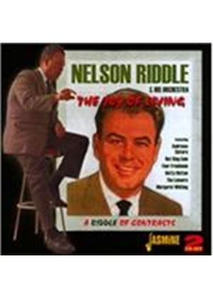 Nelson Riddle - Joy of Living/Riddle of Contrasts and 45s (Music CD)