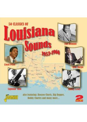 Various Artists - 50 Classics of Louisiana Sounds (1953-1960) (Music CD)