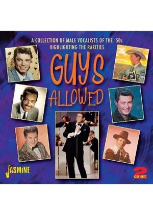 Various Artists - Guys Allowed (A Collection of Rare Male Vocalists Highlight) (Music CD)