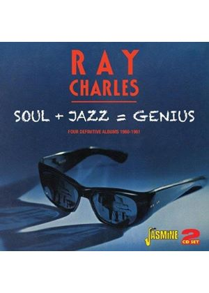 Ray Charles - Soul + Jazz = Genius (Four Definitive Albums 1960-1961) (Music CD)