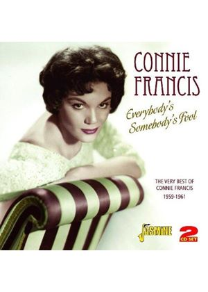 Connie Francis - Everybody's Somebody's Fool (The Very Best of Connie Francis 1959-1961) (Music CD)