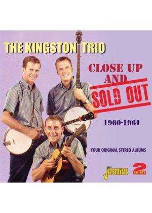 Kingston Trio (The) - Close Up and Sold Out (Four Original Stereo Albums 1960-1961) (Music CD)