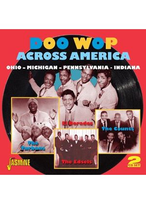 Various Artists - Doo Wop Across America (Ohio - Michigan - Pennsylvania - Indiana) (Music CD)