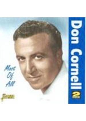 Don Cornell - Most Of All (Music CD)