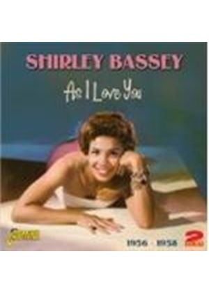 Shirley Bassey - As I Love You (1956-1958) (Music CD)