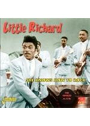 Little Richard - She Knows How To Rock (Music CD)