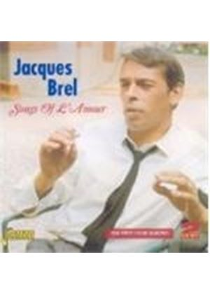 Jacques Brel - Songs Of L'Amour (The First Four Albums) (Music CD)