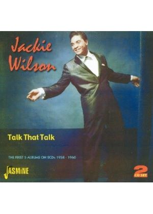 Jackie Wilson - Talk That Talk (The First Five Albums 1958-1960) (Music CD)