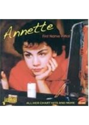 Annette - First Name Initial (All Her Chart Hits And More) (Music CD)