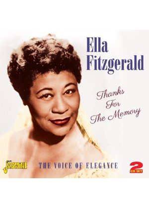 Ella Fitzgerald - Thanks for the Memory (The Voice of Elegance) (Music CD)