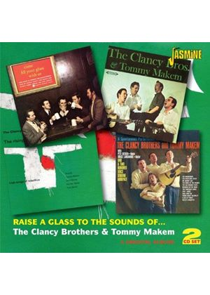 Clancy Brothers (The) - Raise a Glass To the Sounds of… The Clancy Brothers & Tommy Makem (Four Original Albums) (Music CD)