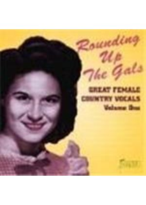 Various Artists - Great Female Country Vocals Vol.1 (Rounding Up The Gals)