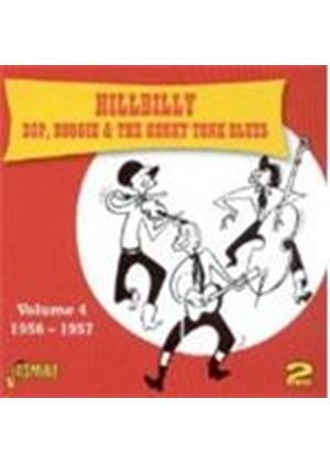 Various Artists - Hillbilly Bop Boogie And The Honkey Tonk Blues Vol.4 (Music CD)
