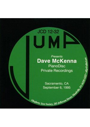 Dave McKenna - Pianodisc Private Recordings (Music CD)