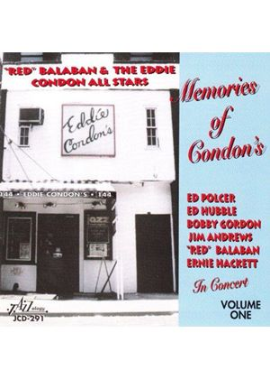 RED BALABAN - MEMORIES OF CONDON'S
