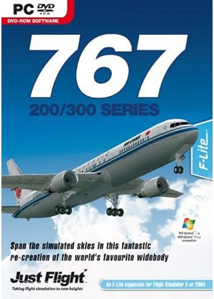767-200/300 Add-On for FSX and FS2004 (PC DVD)