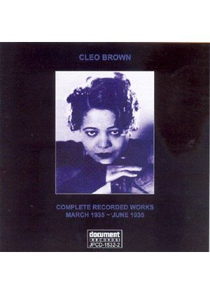 Cleo Brown - Complete Recorded Works: March 1935 - June 1935
