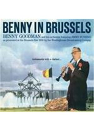 Benny Goodman & His Orchestra - Benny In Brussels (Music CD)