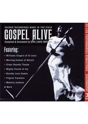 Various Artists - Gospel Live! (Live Recording) (Music CD)
