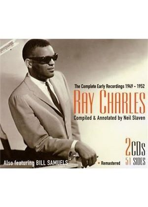Ray Charles - Complete Early Recordings 1949 - 1952 (Music CD)