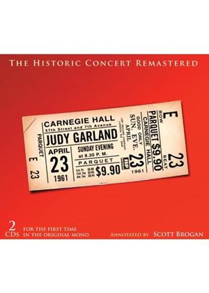 Judy Garland - Historic Carnegie Hall Concert (Music CD)