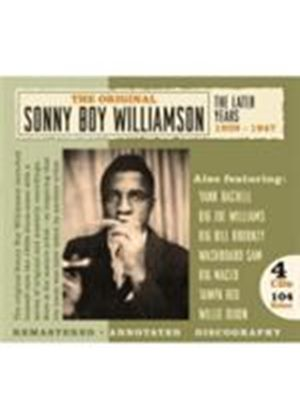 Sonny Boy Williamson - Later Years 1939-1947, The (Music CD)