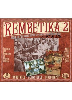 Various Artists - Rembetika 2: More Of The Secret History Of...