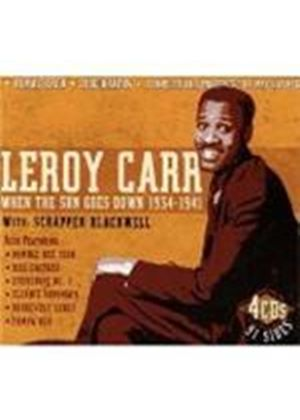 Leroy Carr - When The Sun Goes Down 1934-1941 (Music CD)