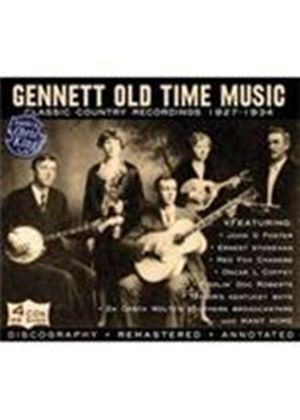Various Artists - Gennett Old Time Music (Music CD)