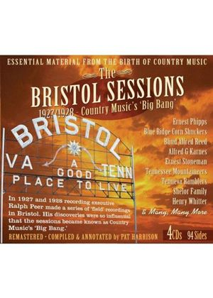 Various Artists - Bristol Sessions (The Big Bang of Country Music 1927-1928) (Music CD)