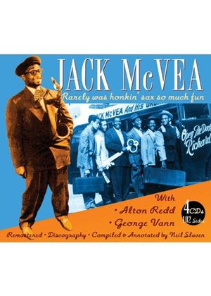 Jack McVea - Jack McVea with Alton Redd and George Vann (Music CD)
