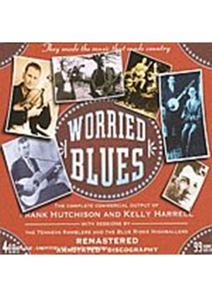 Frank Hutchinson/Kelly Harrell - Worried Blues (Music CD)