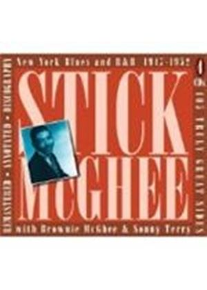 Stick McGhee With Brownie McGhee - New York Blues And R&B 1947 - 1952 (Music CD)