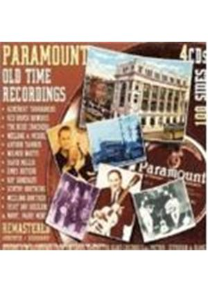 Various Artists - Paramount Old Time Recordings [Remastered]