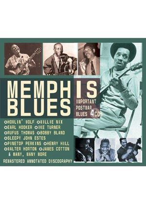 Various Artists - Memphis Blues (Important Postwar Blues) [Remastered]