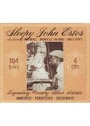 Sleepy John Estes & Other  - Legendary Country Blues Artists (4 CD) (Music CD)