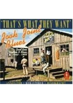 Various Artists - JOOK JOINT BLUES  4CD
