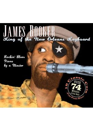 James Booker - King of the New Orleans Keyboard [Junco] (Live Recording) (Music CD)