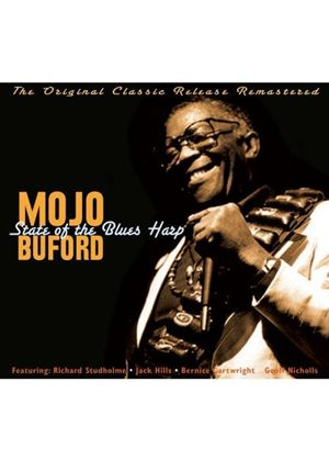 "George ""Mojo"" Buford - State of the Blues Harp (Music CD)"