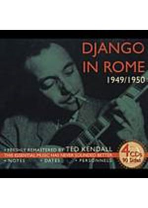 Django Reinhardt - Django In Rome 1949 - 1950 (Music CD)