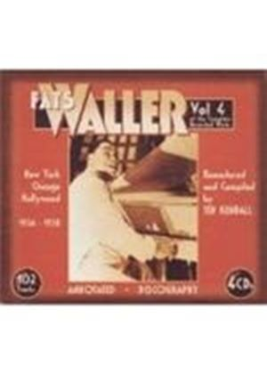Fats Waller - The Complete Recorded Works: Vol. 4 - New York, Chicago
